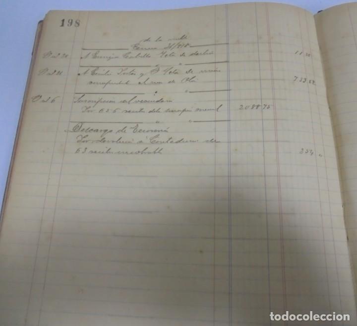Libros antiguos: CADIZ. ASOCIACION GADITANA DE LA CARIDAD. LOTE DE 5 LIBROS DE CUENTAS. LEER DESCRIPCION. VER - Foto 25 - 135091078