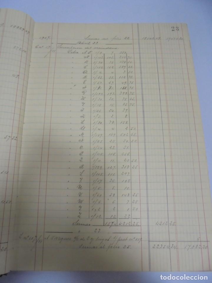 Libros antiguos: CADIZ. ASOCIACION GADITANA DE LA CARIDAD. LOTE DE 5 LIBROS DE CUENTAS. LEER DESCRIPCION. VER - Foto 33 - 135091078