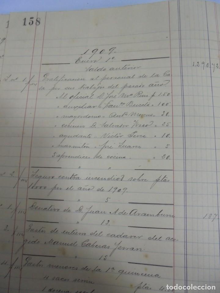 Libros antiguos: CADIZ. ASOCIACION GADITANA DE LA CARIDAD. LOTE DE 5 LIBROS DE CUENTAS. LEER DESCRIPCION. VER - Foto 36 - 135091078