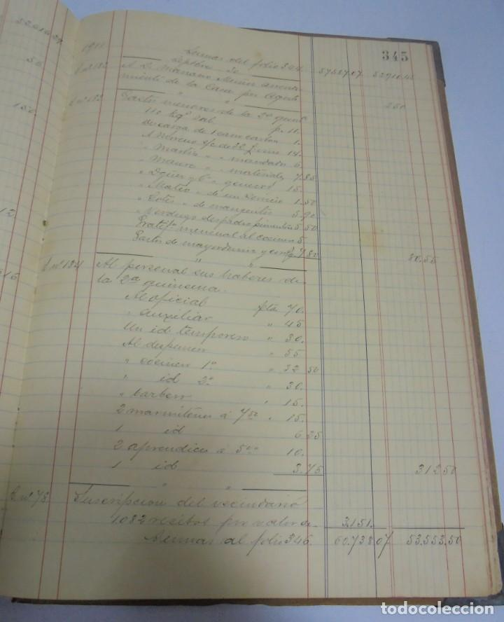 Libros antiguos: CADIZ. ASOCIACION GADITANA DE LA CARIDAD. LOTE DE 5 LIBROS DE CUENTAS. LEER DESCRIPCION. VER - Foto 42 - 135091078