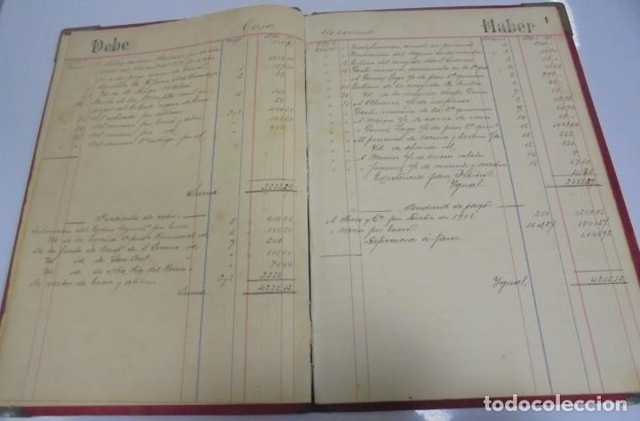 Libros antiguos: CADIZ. ASOCIACION GADITANA DE LA CARIDAD. LOTE DE 5 LIBROS DE CUENTAS. LEER DESCRIPCION. VER - Foto 48 - 135091078