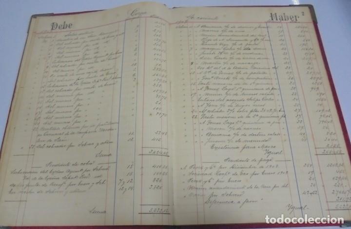 Libros antiguos: CADIZ. ASOCIACION GADITANA DE LA CARIDAD. LOTE DE 5 LIBROS DE CUENTAS. LEER DESCRIPCION. VER - Foto 49 - 135091078