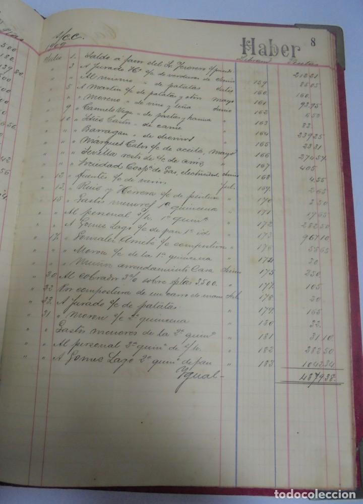 Libros antiguos: CADIZ. ASOCIACION GADITANA DE LA CARIDAD. LOTE DE 5 LIBROS DE CUENTAS. LEER DESCRIPCION. VER - Foto 50 - 135091078