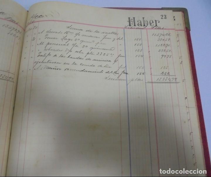 Libros antiguos: CADIZ. ASOCIACION GADITANA DE LA CARIDAD. LOTE DE 5 LIBROS DE CUENTAS. LEER DESCRIPCION. VER - Foto 52 - 135091078