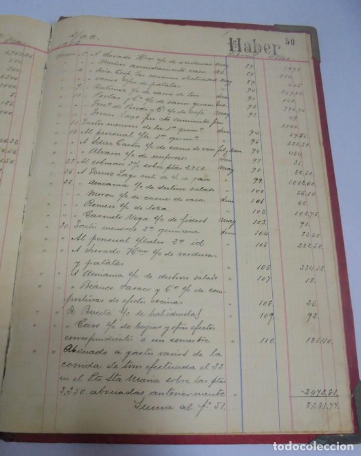 Libros antiguos: CADIZ. ASOCIACION GADITANA DE LA CARIDAD. LOTE DE 5 LIBROS DE CUENTAS. LEER DESCRIPCION. VER - Foto 57 - 135091078