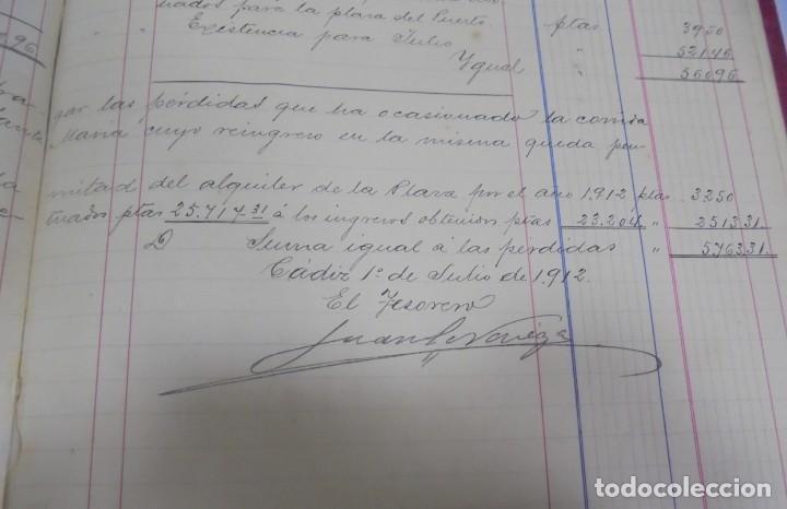 Libros antiguos: CADIZ. ASOCIACION GADITANA DE LA CARIDAD. LOTE DE 5 LIBROS DE CUENTAS. LEER DESCRIPCION. VER - Foto 58 - 135091078