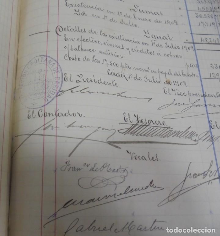 Libros antiguos: CADIZ. ASOCIACION GADITANA DE LA CARIDAD. LOTE DE 5 LIBROS DE CUENTAS. LEER DESCRIPCION. VER - Foto 68 - 135091078