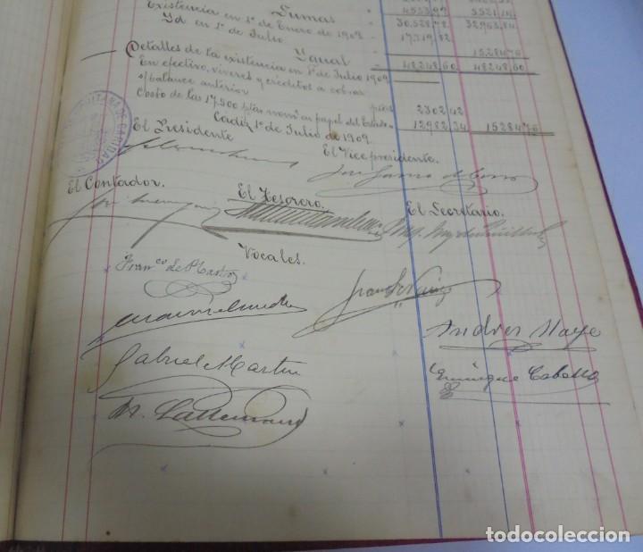Libros antiguos: CADIZ. ASOCIACION GADITANA DE LA CARIDAD. LOTE DE 5 LIBROS DE CUENTAS. LEER DESCRIPCION. VER - Foto 69 - 135091078