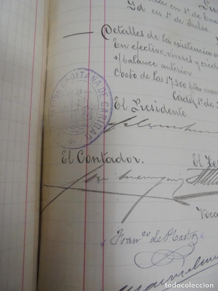 Libros antiguos: CADIZ. ASOCIACION GADITANA DE LA CARIDAD. LOTE DE 5 LIBROS DE CUENTAS. LEER DESCRIPCION. VER - Foto 70 - 135091078