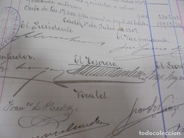 Libros antiguos: CADIZ. ASOCIACION GADITANA DE LA CARIDAD. LOTE DE 5 LIBROS DE CUENTAS. LEER DESCRIPCION. VER - Foto 71 - 135091078