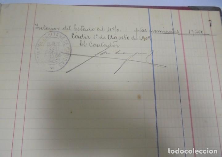 Libros antiguos: CADIZ. ASOCIACION GADITANA DE LA CARIDAD. LOTE DE 5 LIBROS DE CUENTAS. LEER DESCRIPCION. VER - Foto 74 - 135091078