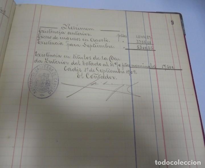 Libros antiguos: CADIZ. ASOCIACION GADITANA DE LA CARIDAD. LOTE DE 5 LIBROS DE CUENTAS. LEER DESCRIPCION. VER - Foto 75 - 135091078