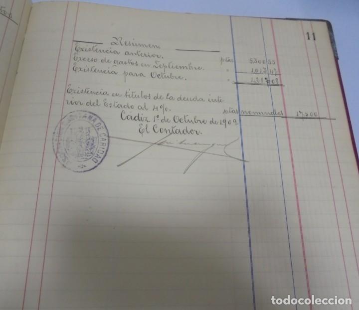 Libros antiguos: CADIZ. ASOCIACION GADITANA DE LA CARIDAD. LOTE DE 5 LIBROS DE CUENTAS. LEER DESCRIPCION. VER - Foto 76 - 135091078