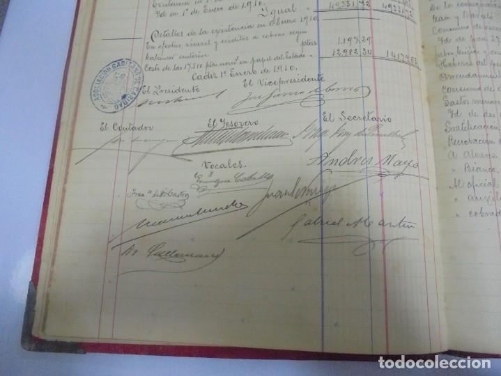 Libros antiguos: CADIZ. ASOCIACION GADITANA DE LA CARIDAD. LOTE DE 5 LIBROS DE CUENTAS. LEER DESCRIPCION. VER - Foto 77 - 135091078