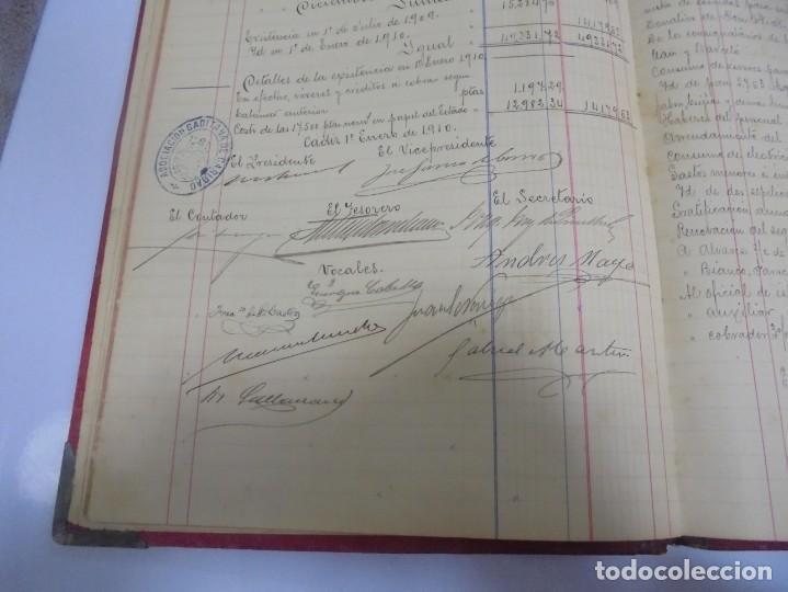 Libros antiguos: CADIZ. ASOCIACION GADITANA DE LA CARIDAD. LOTE DE 5 LIBROS DE CUENTAS. LEER DESCRIPCION. VER - Foto 78 - 135091078