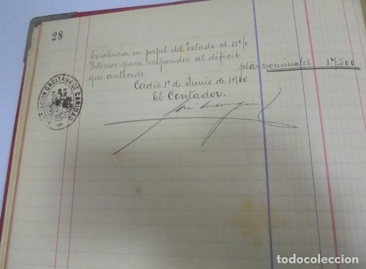 Libros antiguos: CADIZ. ASOCIACION GADITANA DE LA CARIDAD. LOTE DE 5 LIBROS DE CUENTAS. LEER DESCRIPCION. VER - Foto 81 - 135091078