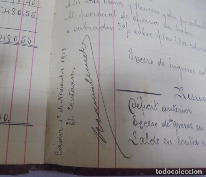 Libros antiguos: CADIZ. ASOCIACION GADITANA DE LA CARIDAD. LOTE DE 5 LIBROS DE CUENTAS. LEER DESCRIPCION. VER - Foto 87 - 135091078