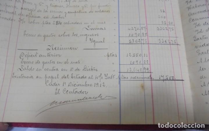 Libros antiguos: CADIZ. ASOCIACION GADITANA DE LA CARIDAD. LOTE DE 5 LIBROS DE CUENTAS. LEER DESCRIPCION. VER - Foto 88 - 135091078