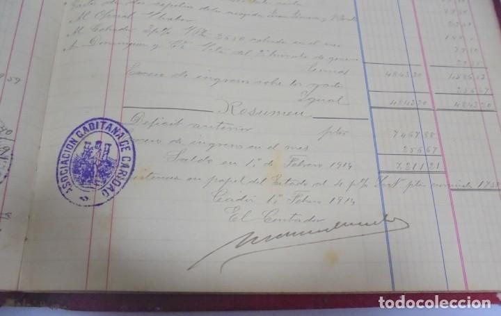 Libros antiguos: CADIZ. ASOCIACION GADITANA DE LA CARIDAD. LOTE DE 5 LIBROS DE CUENTAS. LEER DESCRIPCION. VER - Foto 90 - 135091078