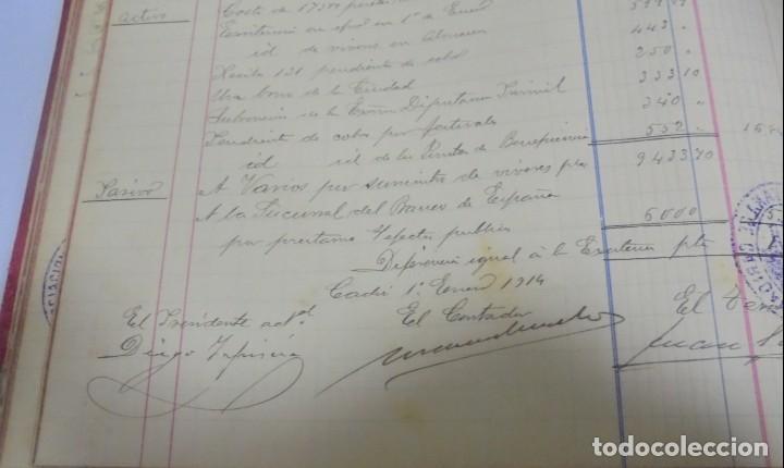 Libros antiguos: CADIZ. ASOCIACION GADITANA DE LA CARIDAD. LOTE DE 5 LIBROS DE CUENTAS. LEER DESCRIPCION. VER - Foto 91 - 135091078