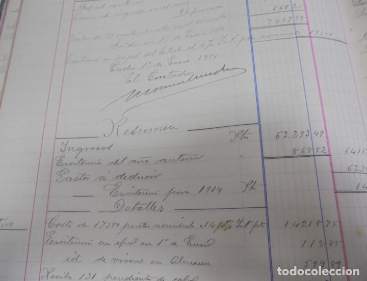 Libros antiguos: CADIZ. ASOCIACION GADITANA DE LA CARIDAD. LOTE DE 5 LIBROS DE CUENTAS. LEER DESCRIPCION. VER - Foto 92 - 135091078