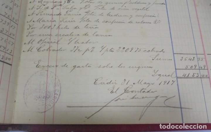 Libros antiguos: CADIZ. ASOCIACION GADITANA DE LA CARIDAD. LOTE DE 5 LIBROS DE CUENTAS. LEER DESCRIPCION. VER - Foto 93 - 135091078