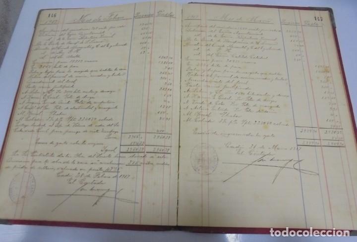 Libros antiguos: CADIZ. ASOCIACION GADITANA DE LA CARIDAD. LOTE DE 5 LIBROS DE CUENTAS. LEER DESCRIPCION. VER - Foto 94 - 135091078