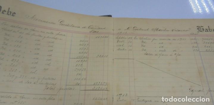 Libros antiguos: CADIZ. ASOCIACION GADITANA DE LA CARIDAD. LOTE DE 5 LIBROS DE CUENTAS. LEER DESCRIPCION. VER - Foto 99 - 135091078