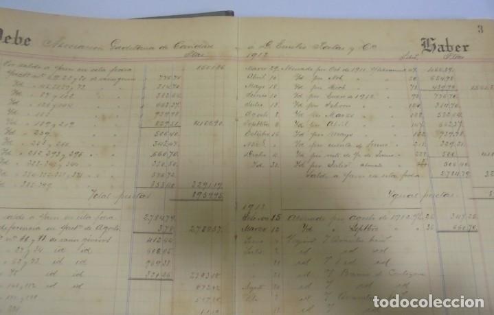Libros antiguos: CADIZ. ASOCIACION GADITANA DE LA CARIDAD. LOTE DE 5 LIBROS DE CUENTAS. LEER DESCRIPCION. VER - Foto 100 - 135091078