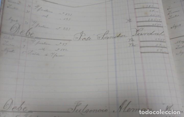 Libros antiguos: CADIZ. ASOCIACION GADITANA DE LA CARIDAD. LOTE DE 5 LIBROS DE CUENTAS. LEER DESCRIPCION. VER - Foto 102 - 135091078