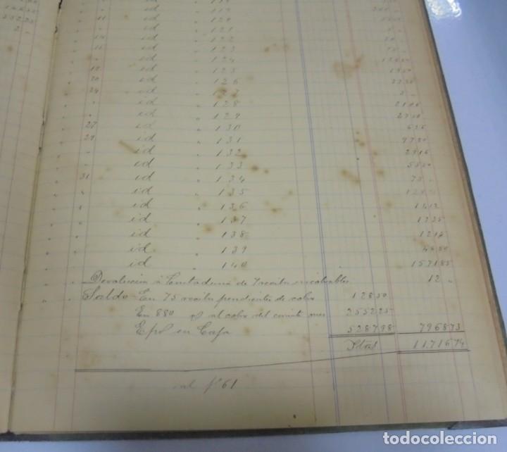 Libros antiguos: CADIZ. ASOCIACION GADITANA DE LA CARIDAD. LOTE DE 5 LIBROS DE CUENTAS. LEER DESCRIPCION. VER - Foto 104 - 135091078