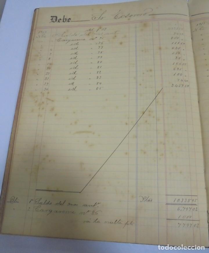 Libros antiguos: CADIZ. ASOCIACION GADITANA DE LA CARIDAD. LOTE DE 5 LIBROS DE CUENTAS. LEER DESCRIPCION. VER - Foto 105 - 135091078
