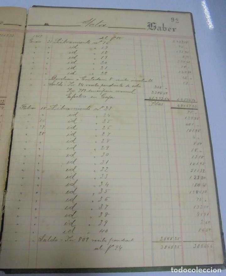 Libros antiguos: CADIZ. ASOCIACION GADITANA DE LA CARIDAD. LOTE DE 5 LIBROS DE CUENTAS. LEER DESCRIPCION. VER - Foto 108 - 135091078