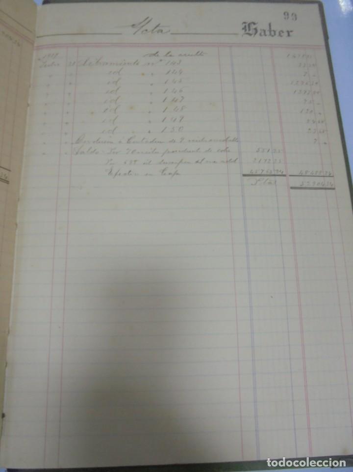 Libros antiguos: CADIZ. ASOCIACION GADITANA DE LA CARIDAD. LOTE DE 5 LIBROS DE CUENTAS. LEER DESCRIPCION. VER - Foto 109 - 135091078