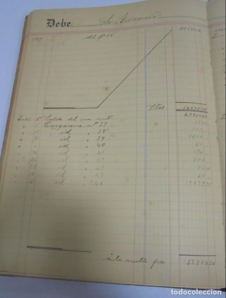 Libros antiguos: CADIZ. ASOCIACION GADITANA DE LA CARIDAD. LOTE DE 5 LIBROS DE CUENTAS. LEER DESCRIPCION. VER - Foto 110 - 135091078