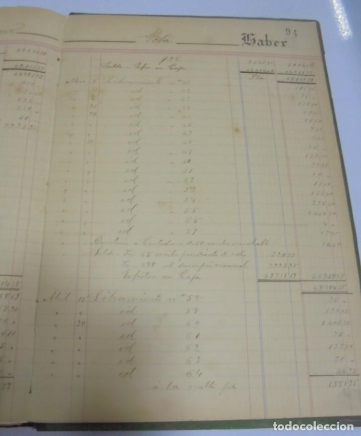 Libros antiguos: CADIZ. ASOCIACION GADITANA DE LA CARIDAD. LOTE DE 5 LIBROS DE CUENTAS. LEER DESCRIPCION. VER - Foto 111 - 135091078