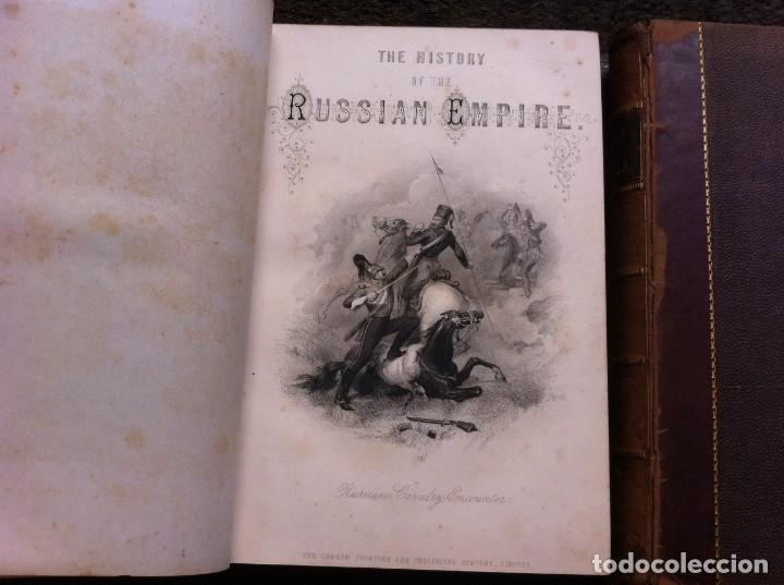 Libros antiguos: H.TYRRELL - HENRY HAUKEIL. THE HISTORY OF RUSSIA FROM THE FOUNDATION OF THE EMPIRE TO THE WAR.... - Foto 5 - 135196646