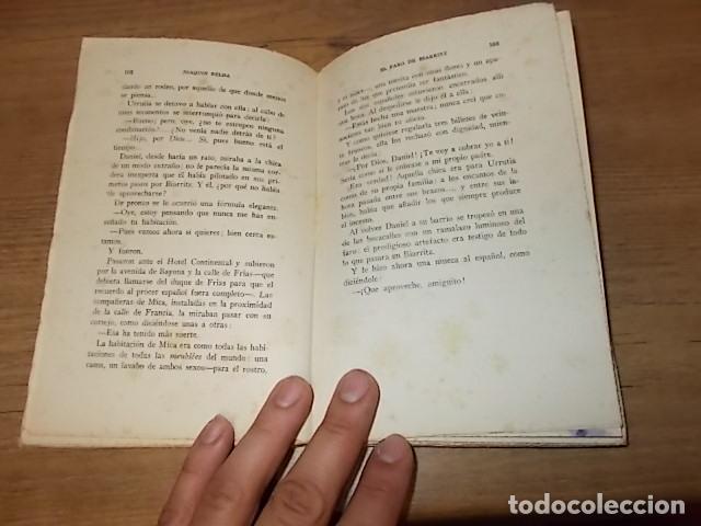 Libros antiguos: EL FARO DE BIARRITZ. JOAQUÍN BELDA. BIBLIOTECA HISPANIA. 1ª EDICIÓN 1924. EXCELENTE EJEMPLAR. FOTOS. - Foto 4 - 135228182