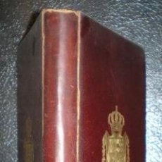 Libros antiguos: IBARRETA, JUAN A. DE: CEREMONIAL MARITIMO. MADRID, MINISTERIO DE MARINA 1913. Lote 135230274