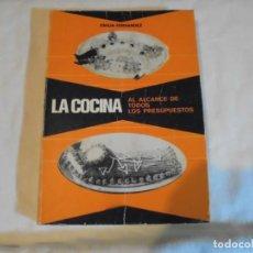 Libros antiguos: LA COCINA AL ALCANCE DE TODOS EMILIA FERNANDEZ.MIERES 1975.-3ª EDICION,GRAFICAS SUMMA OVIEDO. Lote 135268234