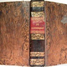 Libros antiguos: VERGNAUD, ARMAND DENIS (1791-1885). NUEVO MANUAL DEL TINTORERO. 1842.. Lote 135296686