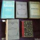 Libros antiguos: 5 ANTIGUOS LIBROS MÉTODO ESTUDIOS IDIOMAS. Lote 135307471