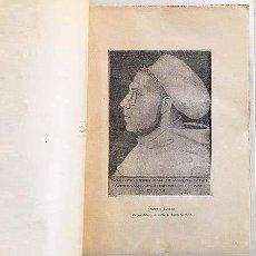 Libros antiguos: MARTIN LUTERO. SU VIDA Y SU OBRA. (1ª EDICIÓN, 1934) H. GRISAR PROTESTANTISMO LUTERANISMO. Lote 135408314
