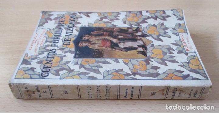 Libros antiguos: Cuentos populares de Vizcaya – Obras de Don Antonio de Trueba (Tomo X), por Antonio Trueba - Foto 2 - 135431802
