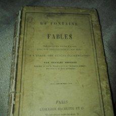 Libros antiguos: FABLES. LA FONTAINE. FÁBULAS. 1883. EN FRANCÉS. Lote 135468130