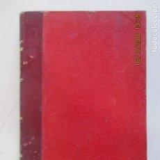 Libros antiguos: PEQUEÑA ENCICLOPEDIA DE CONSTRUCCIÓN. Nº 11. CUBIERTAS. APLICACIONES DEL PLOMO, ZINC. MADRID 1904. Lote 135503258