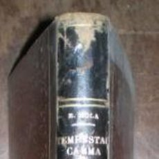 Libros antiguos: MOLA, EMILIO: TEMPESTAD, CALMA, INTRIGA Y CRISIS. . Lote 135726783