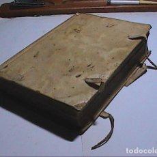 Libros antiguos: OBRAS DE VIRGILIO. 1796.CON AUTORIZACIÓN Y PRIVILEGIO DE FELIPE V EN 1721. EN PERGAMINO.. Lote 135729199