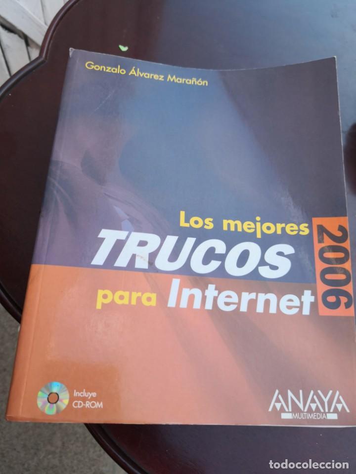 LOS MEJORES TRUCOS PARA INTERNET 2006 ANAYA MULTIMEDIA (Libros Antiguos, Raros y Curiosos - Ciencias, Manuales y Oficios - Otros)