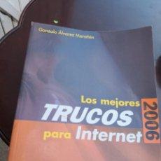 Libros antiguos: LOS MEJORES TRUCOS PARA INTERNET 2006 ANAYA MULTIMEDIA . Lote 135763638